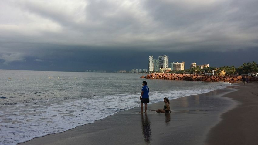 love this photo best dat in mexico Taking Photos Beautiful Nature Enjoying Life How's The Weather Today? Tropical Storm Stormy Weather Beach Photography From My Point Of View