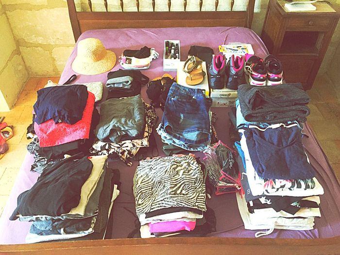 Préparation au déménagement, dur dur d'emporter une partie de sa vie pour deux ans à l'étranger.