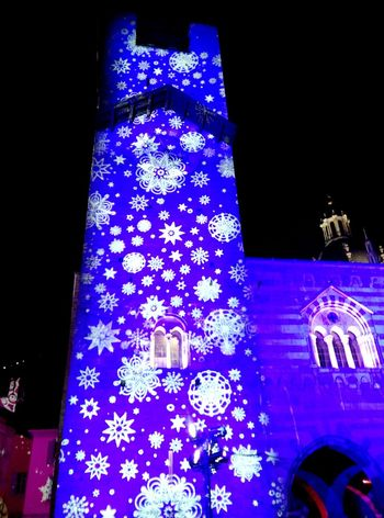 Lake Como Duomo Di Como Natale2014 Christmas Lights Magiadinatale Colors