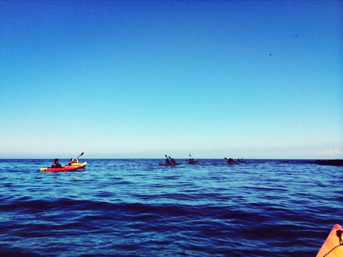 海は広いな大きいな〜? Nature Sea Sea View Seakayaking