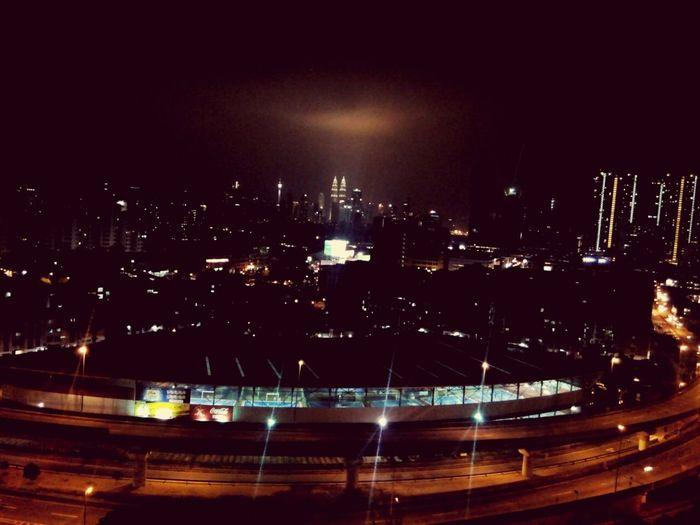 Good night Kuala Lumpur.Relaxing Kuala Lumpur Nightphotography