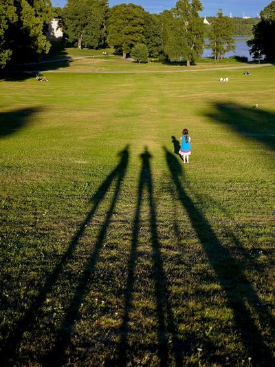 Step out of the shadows Tall Shadows Summer Growth Park Shadow Grass Plant Leisure Activity Sunlight Nature Green Color Day Outdoors Summer Exploratorium Focus On The Story The Portraitist - 2018 EyeEm Awards Capture Tomorrow Streetwise Photography
