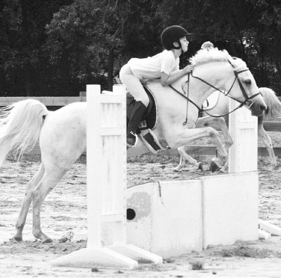Throw back💕 Pony Jumping pony old horse