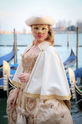 Carnaval 2014 My Daughter Venezia Portrait