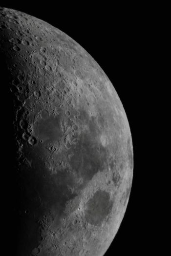 Our good old neighbour o) EyeEm Best Shots EyeEm Nature Lover EyeEm Gallery Moon Astronomy Beauty In Nature Black Background Clear Sky Close-up Details Half Moon Impact Crater Majestic Moon Moon Craters Moon Surface Nature Night No People Outdoors Scenics - Nature Sky Space Space Exploration Tranquility