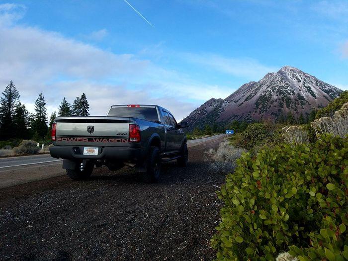 Black Butte California Off-road Vehicle 4x4 Travel RAM Power Wagon Truckporn 4x4life Mt Shasta California California Love