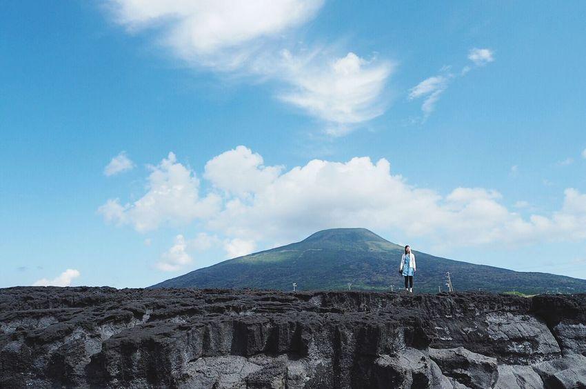 Hachijo-island 八丈島 八丈富士 南原千畳敷