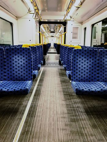 Indoors  No People Day Travelling Travel Photography Train Destination Transportation Seat In Train Night Night Train EyeEm Gallery