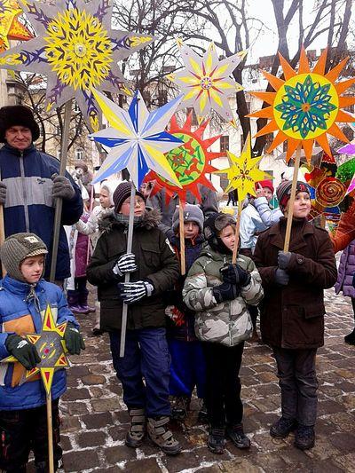 Cristmas Stars Ukraine L'viv Celebration Peoplephotography Traditional Culture