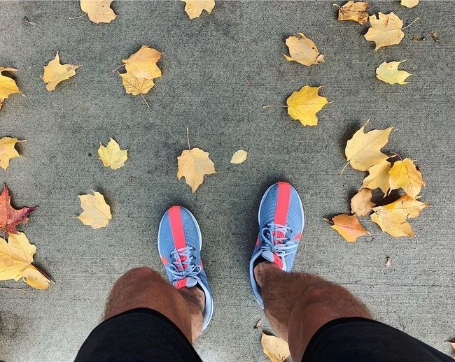 fall running is
