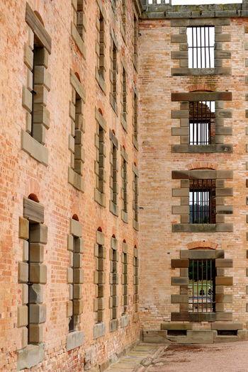 Port Arthur Prison Brick Wall Architecture Brick Structure Building Exterior Built Structure Day Outdoors Port Arthur Prison Prison Break