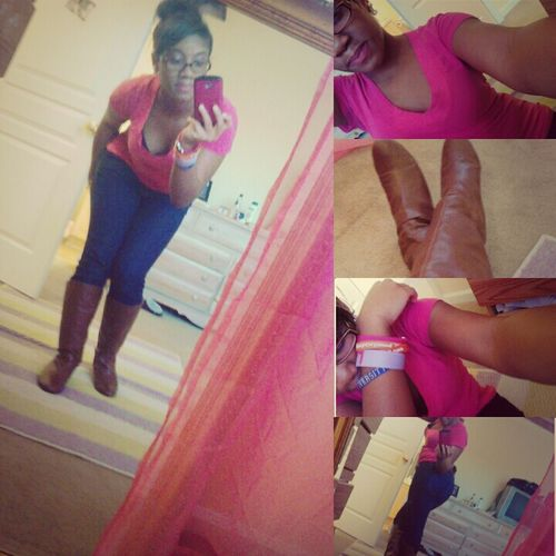 Me From Todayy.* Pinkk And Brown