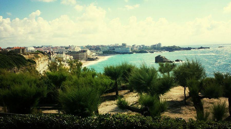 Biarritz Beach Summer