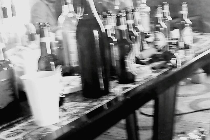 Noitada Portugal Black & White Blackandwhite Photography Alcool Time Effet Flou