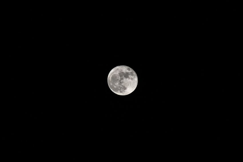 Astronomy Beauty In Nature Black Background Copy Space Low Angle View Moon Moon Moon Light Moon Shots Moon Surface Moonlight Nature Night No People Planetary Moon Scenics Space Tranquil Scene Tranquility