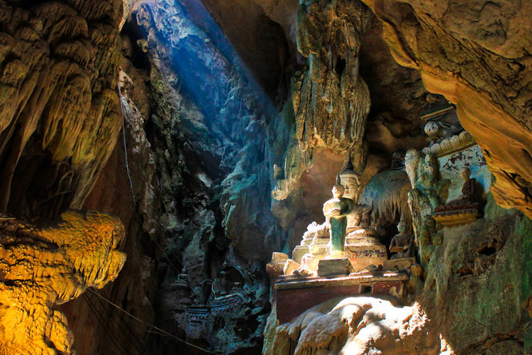 Cave near