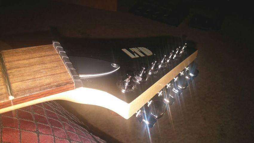 Time for new strings Guitar LTD ESP