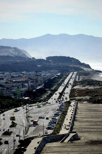 Great Highway / Ocean Beach - San Francisco, Ca. Greathighway Sanfrancisco Ocean Pacificocean Beach Sand City Photography