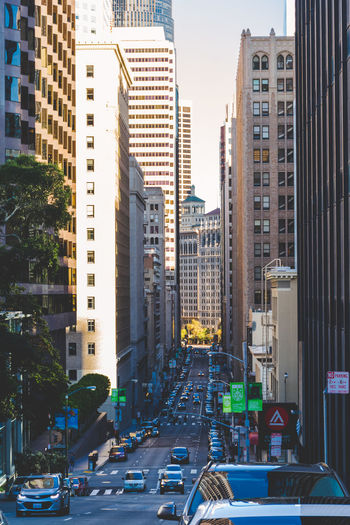 Busy streets of