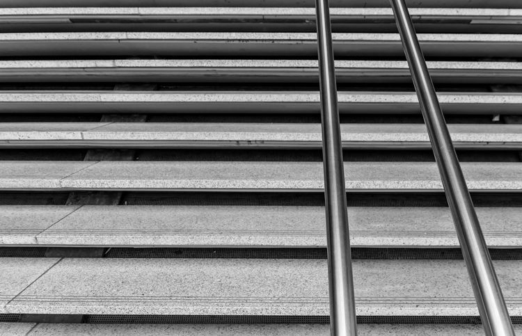 Architecture Backgrounds Built Structure Corrugated Iron Day Full Frame Geländer LINE Minimalism Minimalistic No People Outdoors Pattern Railing Staircase Stairs Steps Textured  Treppe