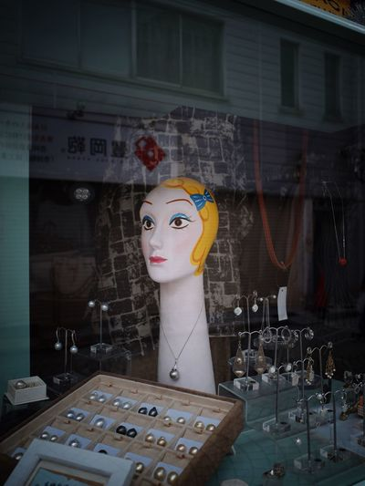 Store No People Art And Craft Creativity Mannequin Window Retail Display Store Window Still Life Architecture