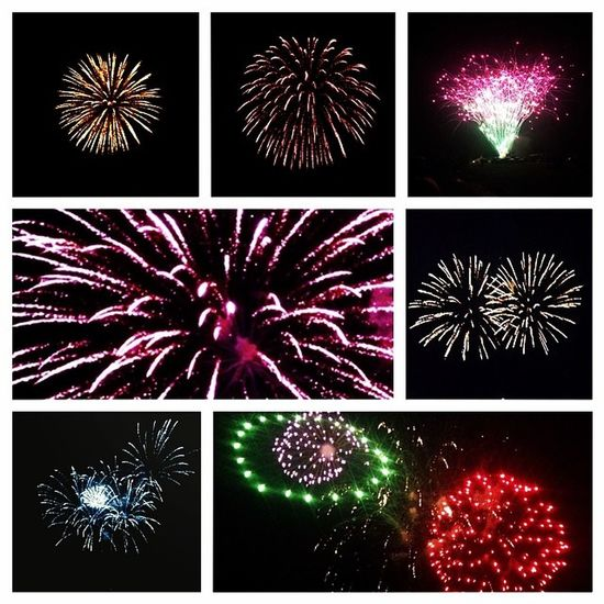 Fireworksssss??✨ Sopretty Irrigationfestival Loggingshow Lovethistimeofyear nightoutwithfriends sofun pretty fireworks love