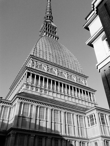 Photographic Memory Mole Mole Antonelliana Turin Italy My Holidays My Holiday 2015 Travel Travel Photography Ancient Building Old Buildings Architecture Architecture_bw B&w Photo B&w Photography B&w Black And White