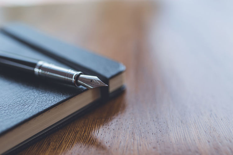 A pen on a