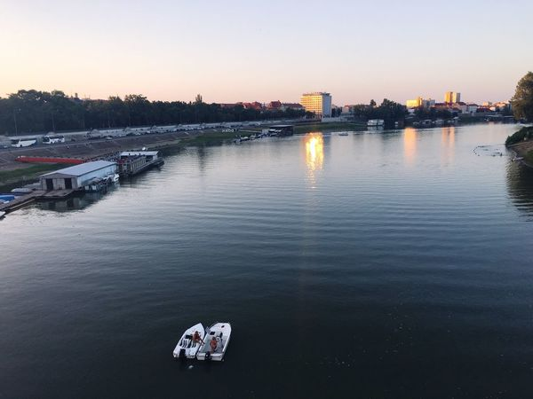 River Szeged Water Boats