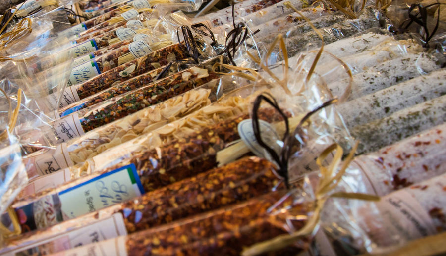 Choice Close-up Food Freshness Italian Spice Large Group Of Objects Marketplace No People Rialto Market Spices Variation Venice, Italy