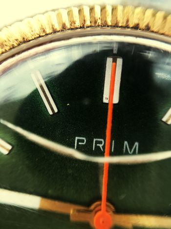 Prim Time Minute Hand First Eyeem Photo Czechoslovakia Green Color Clock Clock Face