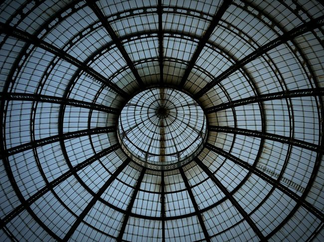 Milano Structure Architecture Photography Web Steel And Glass Taking Photos Photo Check This Out My Photography EyeEm Best Shots EyeEm Hello World Photography Travel Building Glass Dome