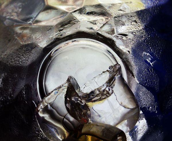 Cristal Clear Hielos Vasos De Cristal Reflection