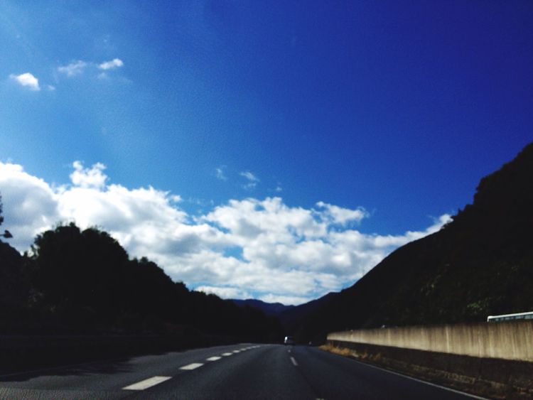 Sky Clouds Drive Road 🎶 Euphoria - The Road