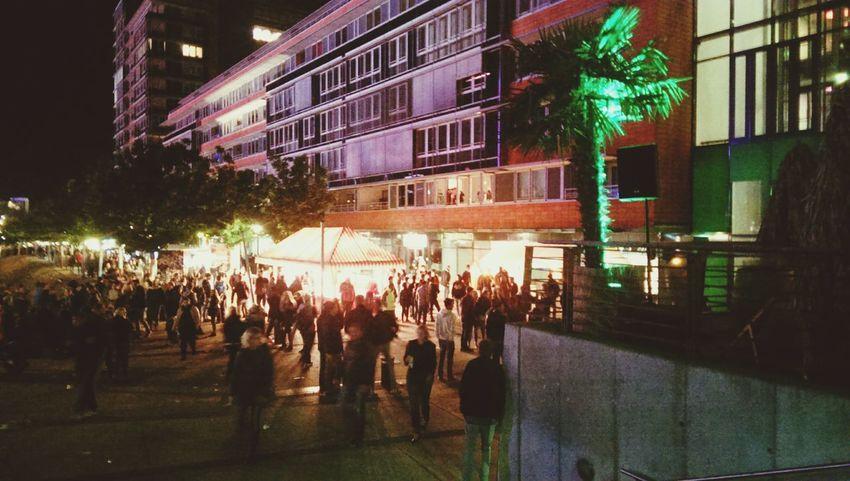 Party Time! Kiwo Kieler Woche People Watching Gemany  Standfest Volksfest