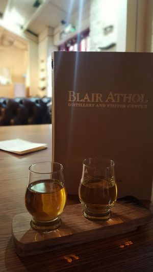 An afternoon of whisky tasting, starting in style with a Blair Athol. Taste Of Scotland Whisky Tasting Whisky Whiskyporn Whisky Glass Scottish Scotland Pitlochry Blair Athol Honey Coloured Warmth In Winter Indoors  Drinking Glass Food And Drink Alcohol No People Focus On Foreground Refreshment Close-up