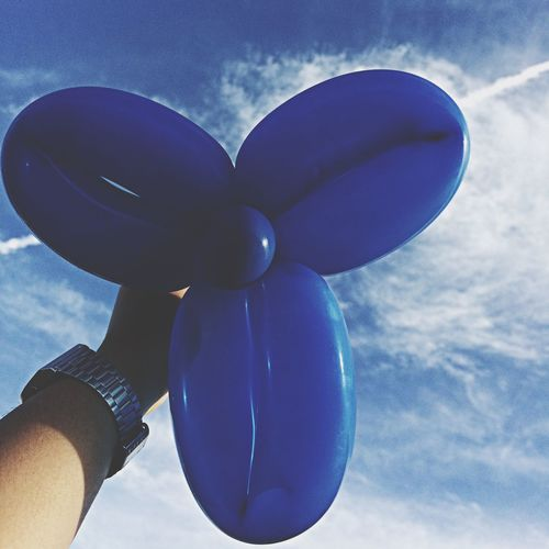Balloontwisting Blue Bluesky Bluetheme