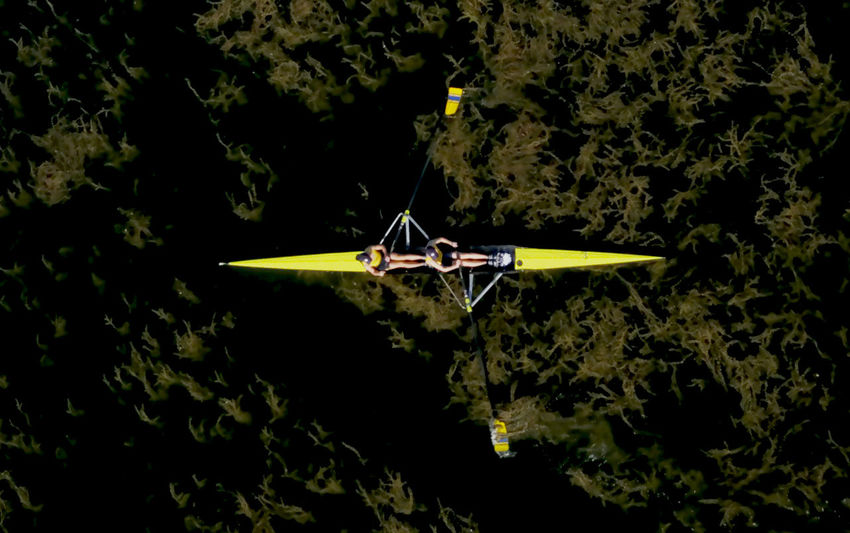Aerial Shot DJI Mavic Pro Rowing Aerial Photography Aerial View Aviron Dji Dronephotography Nature Nautical Vessel Outdoors Rowing Boats Water