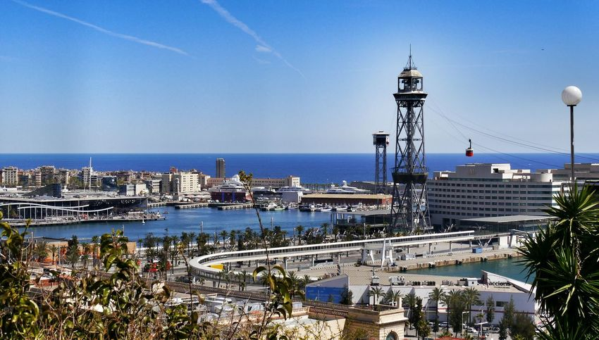Barcelona harbour view Travel Harbour Harbour View Old Harbour Port Vell Bridge Aquarium Eyem Gallery EyeEm Gallery Funicular Harbour Funicular Barcelona SPAIN Red Cabin Funicular Cabin View From Funicular Station Montjuic Showcase July Neighborhood Map Your Ticket To Europe