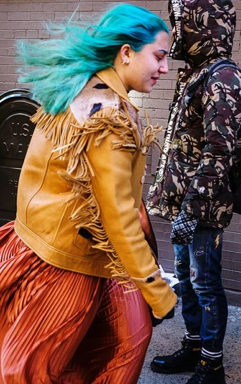 Milk Studios • Feb 13th 2016 FWNYC Streetphotography People Watching NYC Portrait Woman Streetstyle Fashion NYC Photography Everybodystreet Hikaricreative Lensculture Nusevoice Helloicp Street_capture Peoplofnyc
