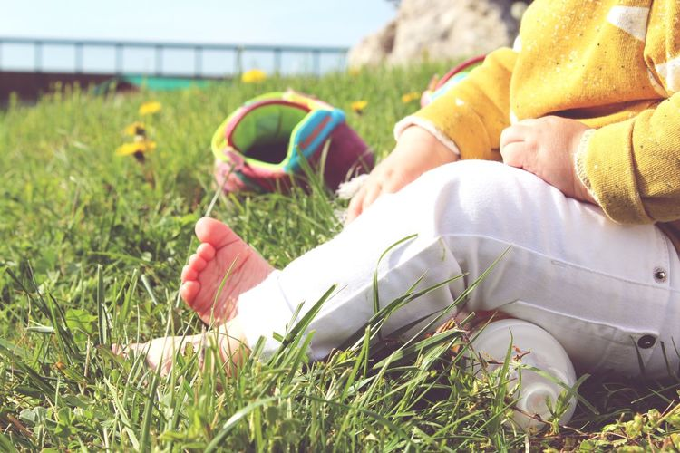 Baby. Eyeem Summer Lover Babyhood Babyfeet Littlehands Yellow. Beautiful Nature Colors Nature Lovemyjob Home EyeEmNewHere EyeEm Best Shots Beautiful People Sannyday Human Hand Sitting Relaxation Baby Baby Boys 6-11 Months Baby Clothing Summer In The City Redefining Menswear