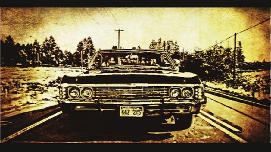 Dean Winchester Samwinchester Winchesterbrothers Chavrolet Impala67 Supernatural SPN 😊 JaredPadalecki Jasonaldean