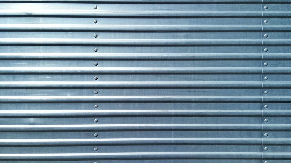 Background Backgrounds Blinds Blue Close-up Closed Continuous Design Detail Full Frame Geometric Shape Industrial Layers Material Metal Metallic No People Old Panel Pattern Repeating Patterns Repetition Surface Texture Textured