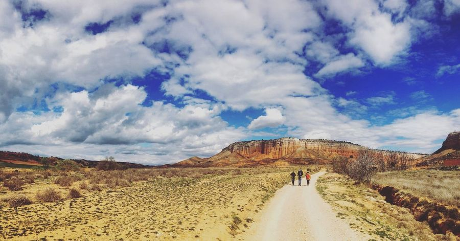 Camino Horizon Road Blue Sky And Clouds Blue Sky first eyeem photo Teruel Landscape Adventure Friends