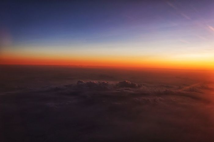 Korea Photos Cloudpark Landscape Nature Outdoors Space Scenics Sunset Sky Flying Beauty In Nature No People Tranquility Fog Dawn Mountain Winter Cold Temperature Beauty Astronomy Luminosity City Clouds From An Airplane Window Streamzoofamily