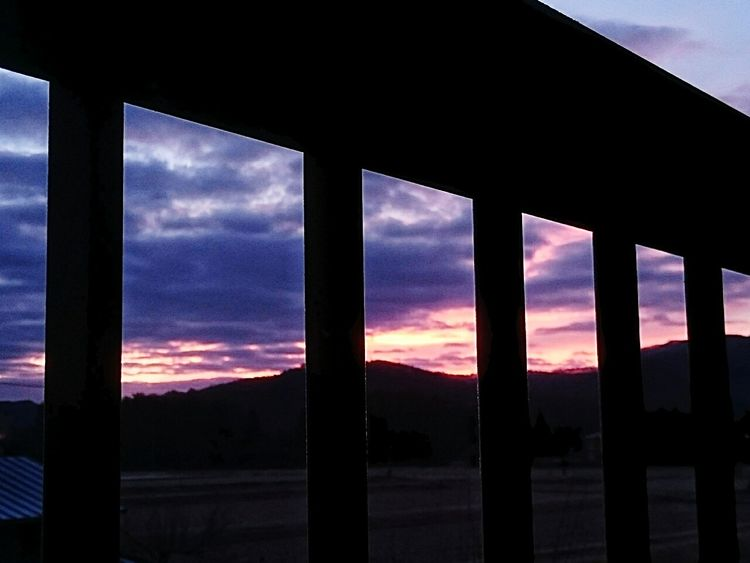 from the balcony… Sunrise Clouds And SkyBalcony From The Balcony Silhouette