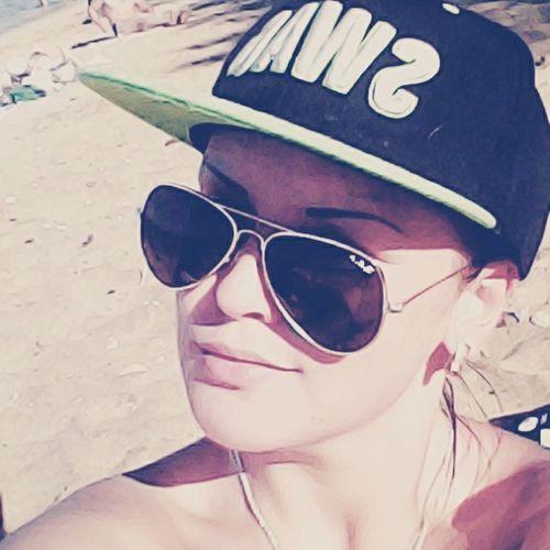 Солнце море пляж)))