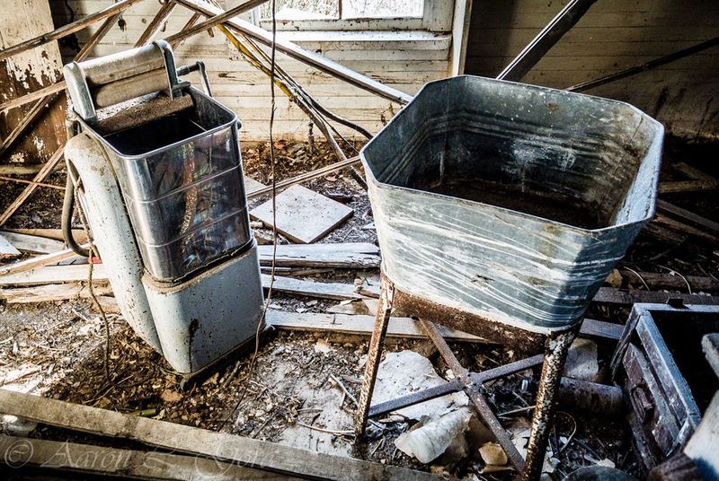 Laundry day! Abandoned No People Day Outdoors Vintage appliances Old Appliance beautiful