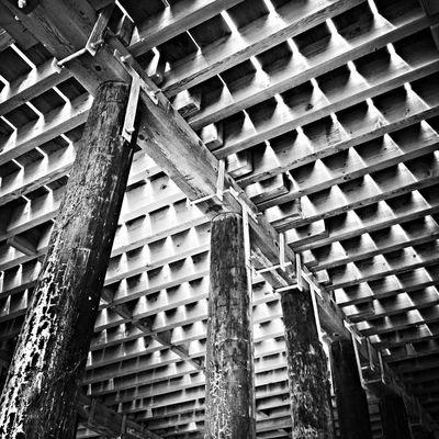 Under the End of the Pier AMPt_community NEM Black&white Oggl NEM Architecture