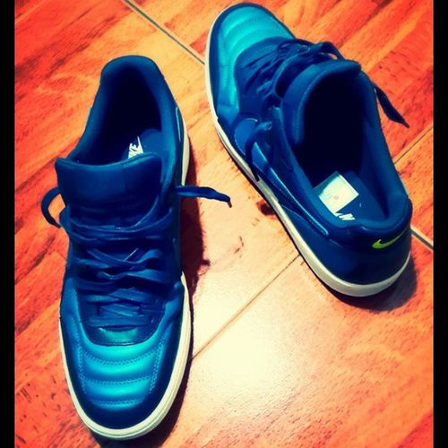 Nike Phylon Tiempo Blue cool happiness 😃😃